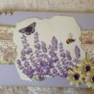 Ett lila kort